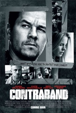 Contraband - HD DVD cover