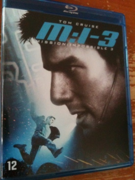 Mission Impossible 3 - Blu-ray cover