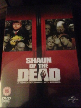Shaun Of The Dead - DVD cover