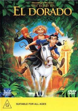 Road to El Dorado - DVD cover