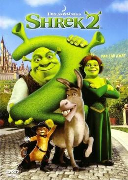 Shrek 2 - Video 8 cover