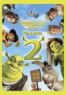 Shrek 2 - DVD cover