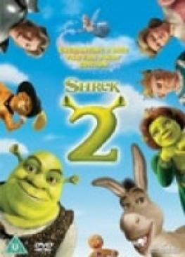 Shrek 2 - Blu-ray cover