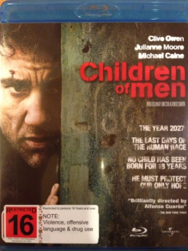 Children of Men - Blu-ray cover