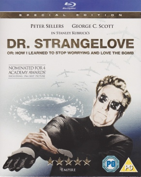 Kubrick: Dr. Strangelove or: How I Learned to Stop Worrying and Love the Bomb - Blu-ray cover