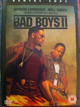 Bad Boys II - DVD cover