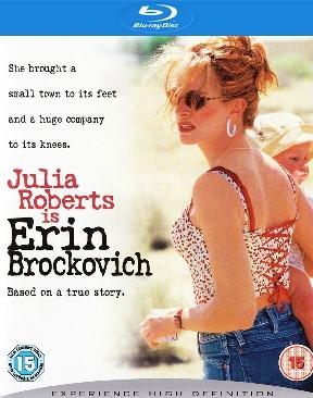 Erin Brockovich - Blu-ray cover