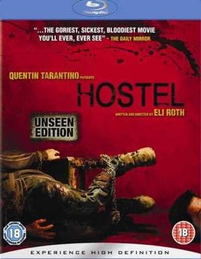 Hostel - Blu-ray cover