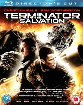 Terminator: Salvation - Blu-ray cover