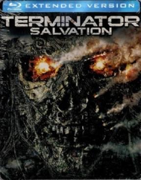 Terminator 4: Salvation - Blu-ray cover