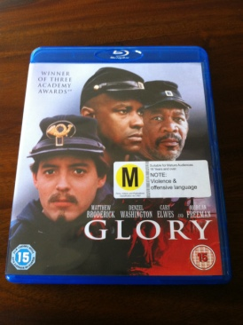 Glory - Blu-ray cover