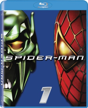 Spider-Man - Blu-ray cover