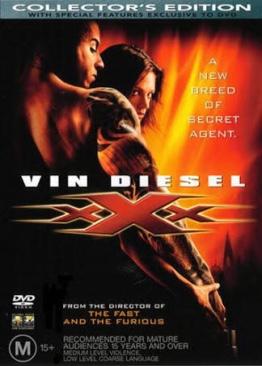 xXx - Blu-ray cover