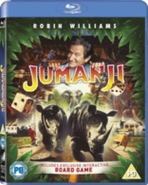 Jumanji - Blu-ray cover