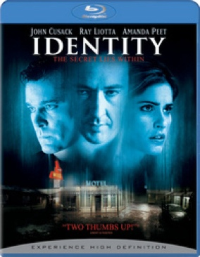 Identity - Blu-ray cover