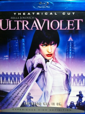 Ultraviolet - Blu-ray cover