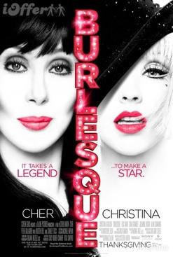 Burlesque - Blu-ray cover
