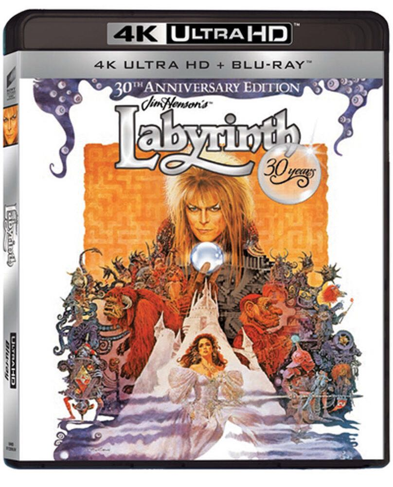 Labyrinth - HD DVD cover