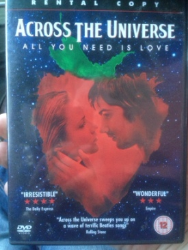 Across The Universe - DVD cover