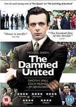 The Damned United - DVD cover