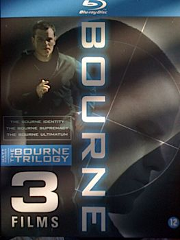 The Bourne Trilogy - Blu-ray cover