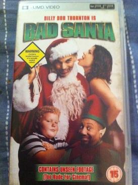 Bad Santa - UMD cover