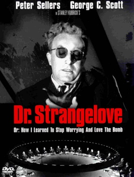 Dr. Strangelove or: How I Learned to Stop Worrying and Love the Bomb - VHS cover