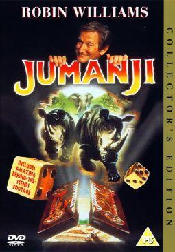 Jumanji - DVD cover