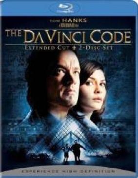 The Da Vinci Code - Blu-ray cover