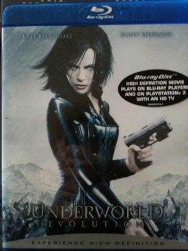 Underworld 2 : Evolution - Blu-ray cover