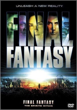 Final Fantasy: The Spirits Within - DVD cover