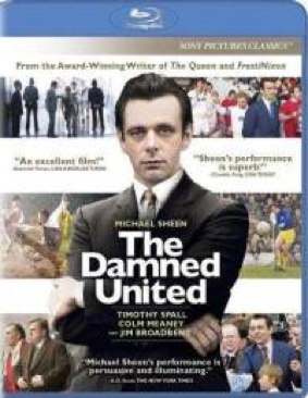 The Damned United - Blu-ray cover