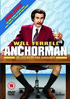 Anchorman: The Legend of Ron Burgundy - DVD cover