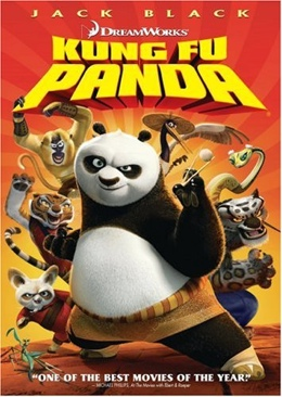 Kung Fu Panda - DVD cover