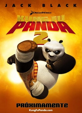 Kung Fu Panda 2 / No 22 DreamWorks - DVD cover