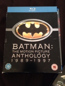 Batman: The Motion Picture Anthology 1989-1997 - Blu-ray cover