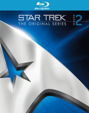 Star Trek: The Original Series - Blu-ray cover