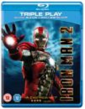 Iron Man 2 - Blu-ray cover