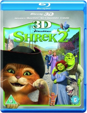 Shrek 2 - Blu-ray cover