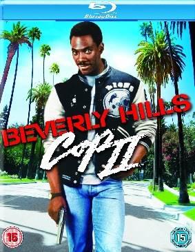 Beverly Hills Cop II - Blu-ray cover