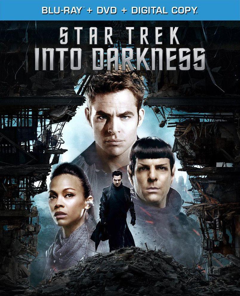 Star Trek 12: Into Darkness - Blu-ray cover