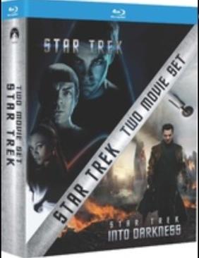 Star Trek / Star Trek Into Darkness Two Movie Set -  cover