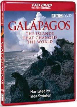 Galapagos - HD DVD cover