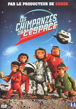 Space Chimps - DVD cover
