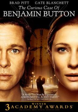 The Curious Case Of Benjamin Button - DVD cover