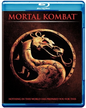 Mortal Kombat - Blu-ray cover