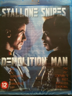 Demolition Man - Blu-ray cover
