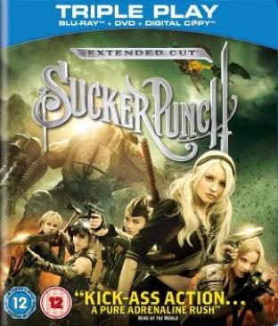 Sucker Punch - Blu-ray cover