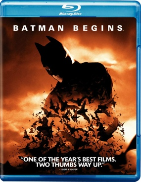Dark Knight Trilogy: Batman Begins - Video CD cover