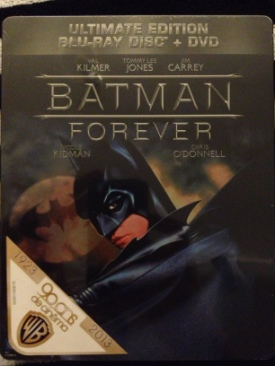 Batman Forever - Blu-ray cover
